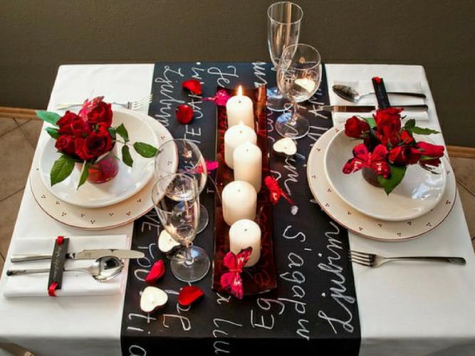 Visas dāvanas valentīndienas vakariņas