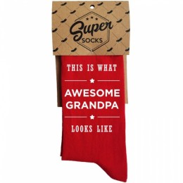 "Zeķes ""Awesome Grandpa"""