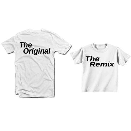 "T-kreklu komplekts ""The Original, The Remix"""