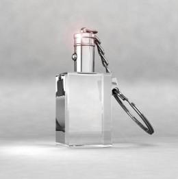 Atslēgu piekariņš KCL ar baltu un mainīgu gaismu