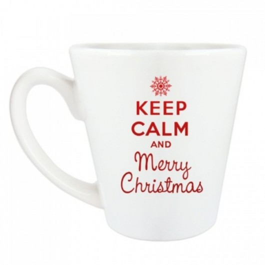 "Krūze ""Keep calm Merry Christmas"""