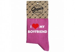 "Zeķes ""I love my boyfriend"""