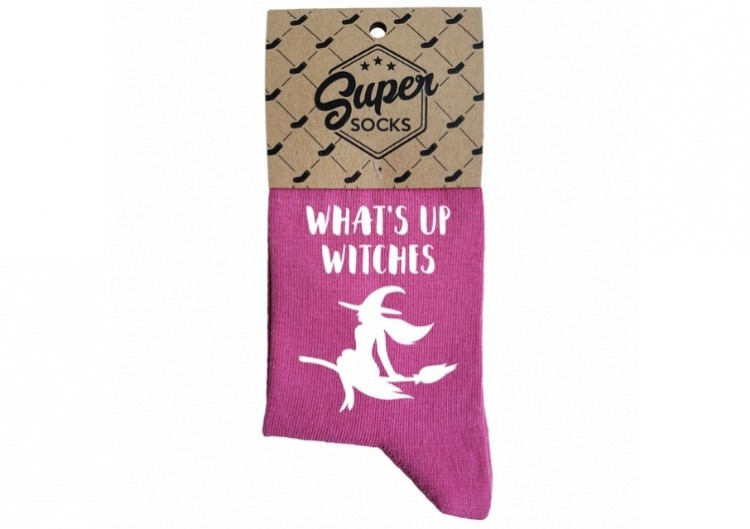 "Zeķes ""What's up witches"""