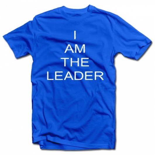 "T-krekls ""I AM THE LEADER"""